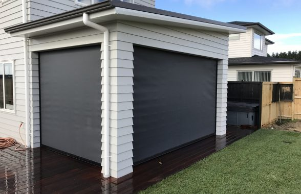 Install Ziptrak screens to create another living space