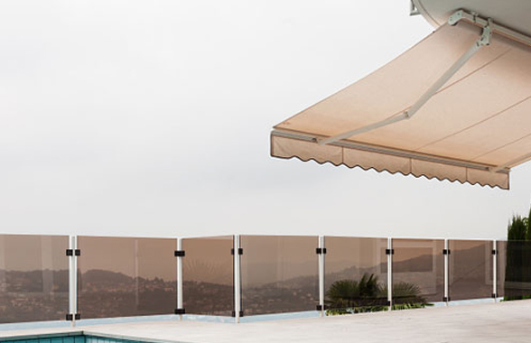 Extendable Folding Arm Awnings That Fold Away To Nothing