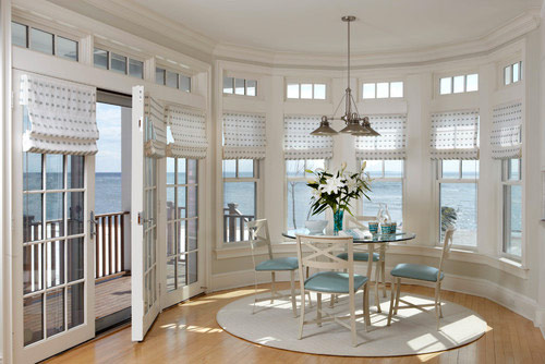 Window Treatments Perfect for Decorating Your Beach House