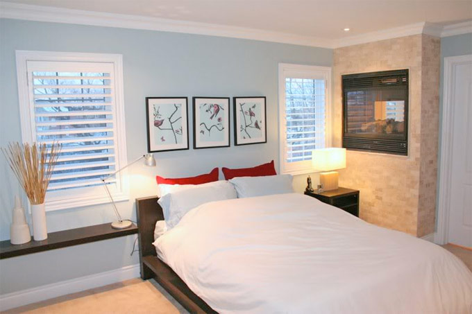 How to choose the perfect blinds for your bedroom for Cost of blinds for 3 bedroom house