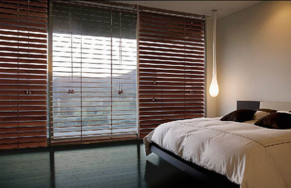 Painted And Timber Look Venetian Blinds Control The Light